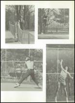 1972 Anthony Wayne High School Yearbook Page 158 & 159