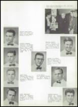 1956 McBride High School Yearbook Page 12 & 13