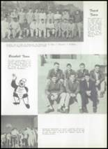 1956 McBride High School Yearbook Page 50 & 51