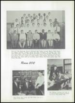 1956 McBride High School Yearbook Page 54 & 55