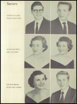 1956 Lewisville High School Yearbook Page 14 & 15