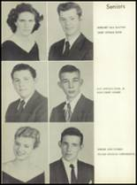 1956 Lewisville High School Yearbook Page 16 & 17