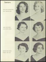 1956 Lewisville High School Yearbook Page 20 & 21