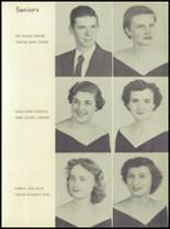 1956 Lewisville High School Yearbook Page 22 & 23