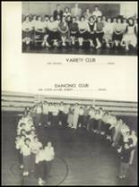 1956 Lewisville High School Yearbook Page 52 & 53
