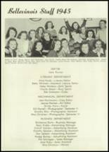 1945 Belleville Township High School Yearbook Page 10 & 11