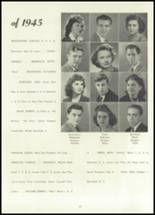 1945 Belleville Township High School Yearbook Page 16 & 17