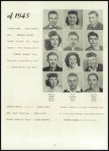 1945 Belleville Township High School Yearbook Page 18 & 19