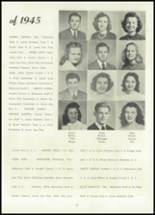 1945 Belleville Township High School Yearbook Page 20 & 21