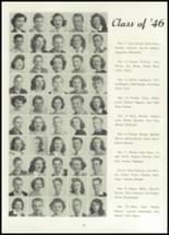 1945 Belleville Township High School Yearbook Page 34 & 35