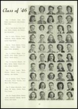 1945 Belleville Township High School Yearbook Page 36 & 37