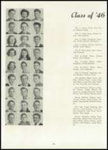 1945 Belleville Township High School Yearbook Page 38 & 39