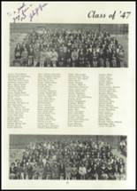 1945 Belleville Township High School Yearbook Page 40 & 41
