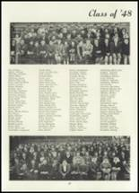 1945 Belleville Township High School Yearbook Page 42 & 43