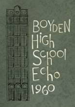 1960 Yearbook Boyden High School