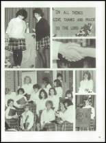 1987 Prout High School Yearbook Page 72 & 73