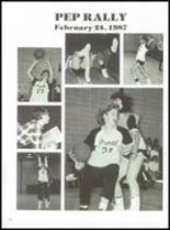 1987 Prout High School Yearbook Page 86 & 87