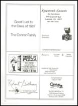 1987 Prout High School Yearbook Page 118 & 119
