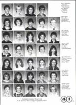 1984 Pawnee High School Yearbook Page 18 & 19