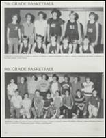 1986 Stillwater High School Yearbook Page 116 & 117