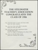 1986 Stillwater High School Yearbook Page 126 & 127