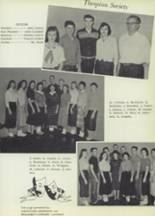 1959 Gillespie Community High School Yearbook Page 92 & 93
