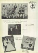 1959 Gillespie Community High School Yearbook Page 100 & 101