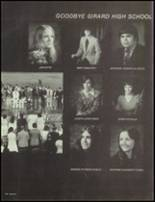 1975 Girard High School Yearbook Page 204 & 205