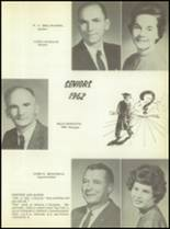 1962 Morris High School Yearbook Page 14 & 15