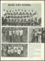 1977 Baird High School Yearbook Page 88 & 89