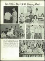 1977 Baird High School Yearbook Page 100 & 101