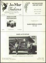 1977 Baird High School Yearbook Page 152 & 153