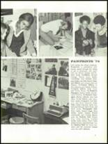 1974 Farmville Central High School Yearbook Page 64 & 65