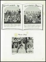 1978 McGuffey High School Yearbook Page 90 & 91