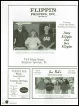 1999 Sulphur Springs High School Yearbook Page 208 & 209