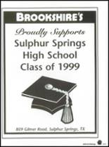 1999 Sulphur Springs High School Yearbook Page 224 & 225