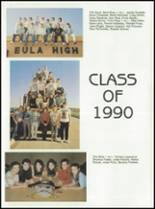 1990 Eula High School Yearbook Page 20 & 21