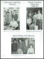 1984 Erwin High School Yearbook Page 86 & 87