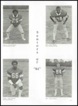 1984 Erwin High School Yearbook Page 124 & 125