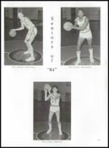 1984 Erwin High School Yearbook Page 132 & 133