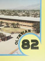 1982 Yearbook Palo Verde High School