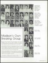 1985 James Madison Senior High School Yearbook Page 114 & 115