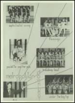 1957 West High School Yearbook Page 70 & 71