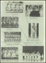 1957 West High School Yearbook Page 72 & 73