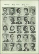 1957 West High School Yearbook Page 96 & 97