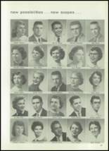 1957 West High School Yearbook Page 100 & 101