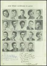 1957 West High School Yearbook Page 108 & 109