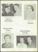 1960 South Glens Falls High School Yearbook Page 22 & 23