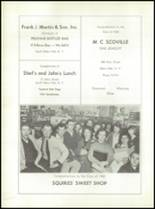 1960 South Glens Falls High School Yearbook Page 156 & 157