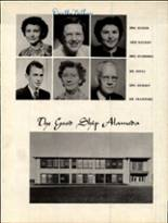1950 Alameda High School Yearbook Page 12 & 13